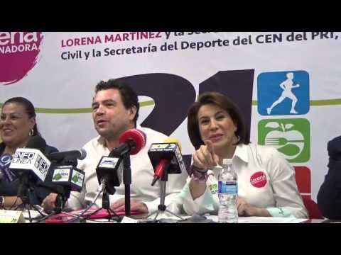Norma Esparza Herrera Presidenta del PRI en AgS; somos el partido que lucha por la democracia