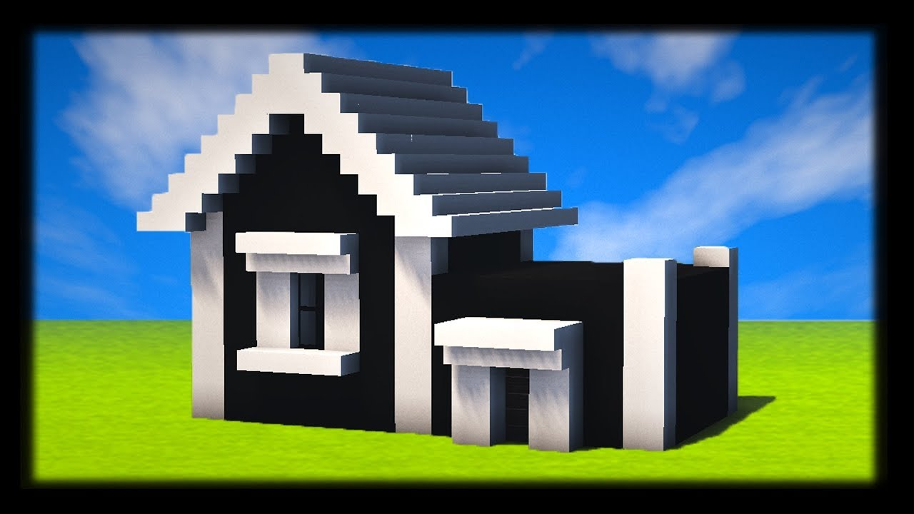 comment construire une maison am ricaine moderne tuto. Black Bedroom Furniture Sets. Home Design Ideas