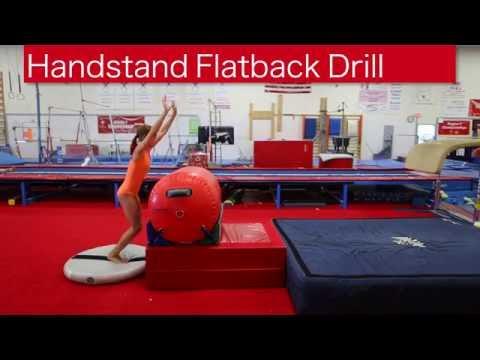 Handstand Flatback Drill