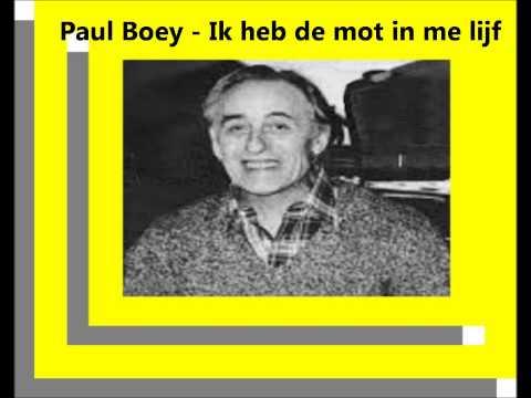 Paul Boey - Ik heb de mot in me lijf