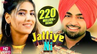 Jordan Sandhu - Jattiye Ni | Ginni Kapoor | JassiX | Arjan Virk| Bunty Bains| New Punjabi Songs 2019