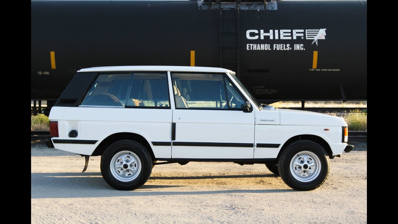 1980 Range Rover 2 door Classic for sale at Modern Classics - YouTube