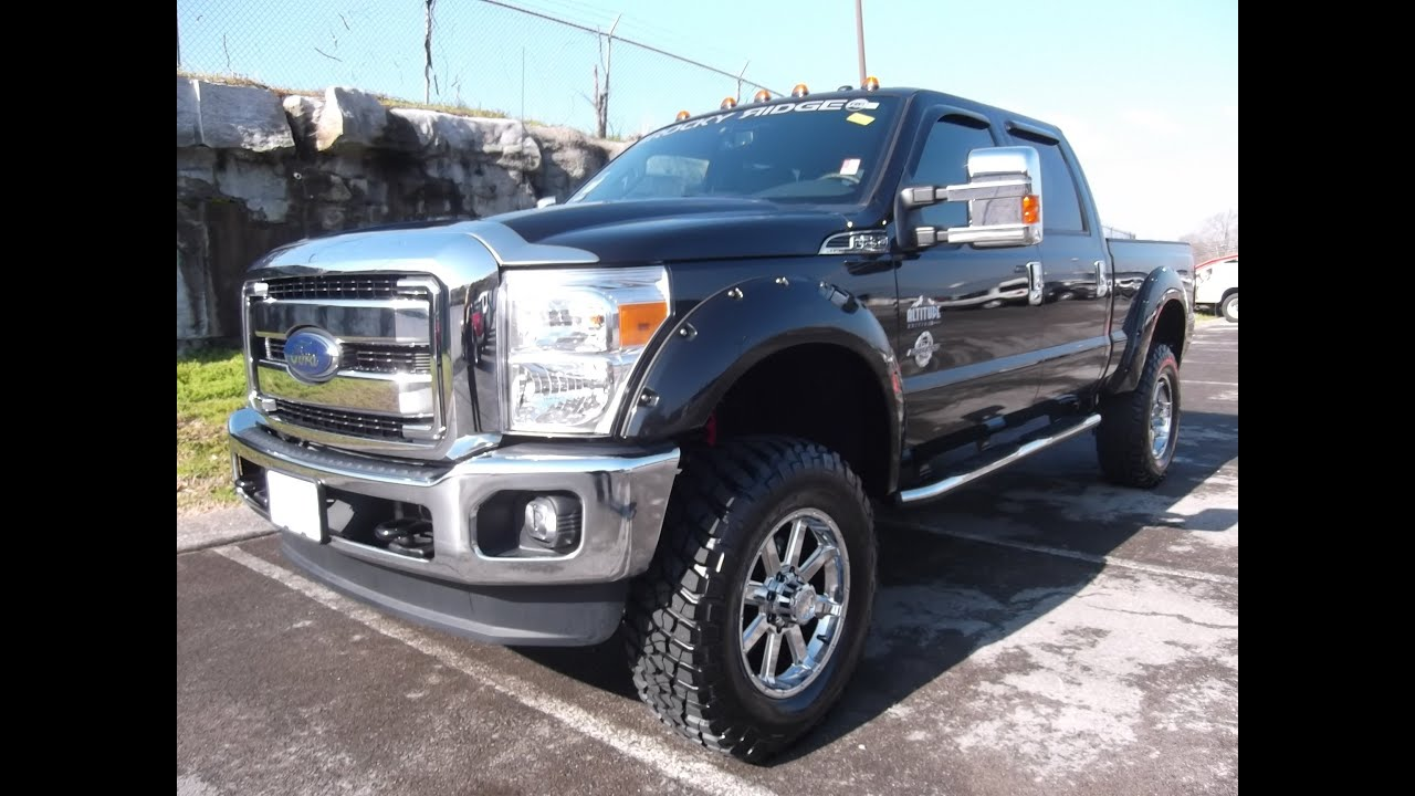 "Lifted 2017 F350 Dually >> 2013 FORD SUPERDUTY 6"" LIFTED ROCKY RIDGE ALTITUDE EDITION LARIAT PROCOMP SUSPENSION 888-439 ..."