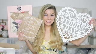 Huge Wedding Decoration Haul! | Dollybowbow