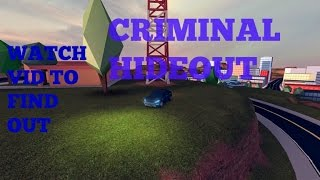 Roblox JailBreak (Beta) Where to find the Criminal Hideout!