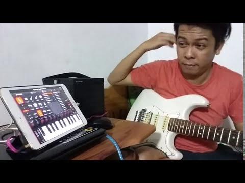 Convert guitar signal to midi and trigger virtual instruments (ipad)