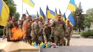 День Пам'яті і примирення в Торецьку продовжився Арт-акцією Україна-мрія