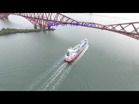 ship on the forth