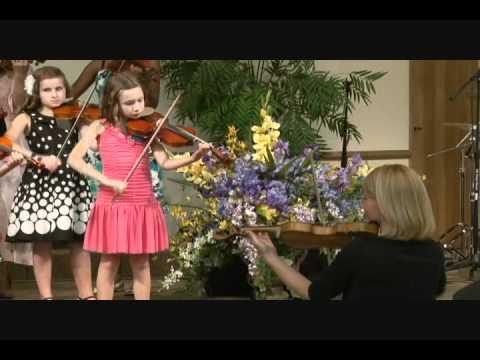 Jesus Loves Me Suzuki Violin Group with Wind Friends!
