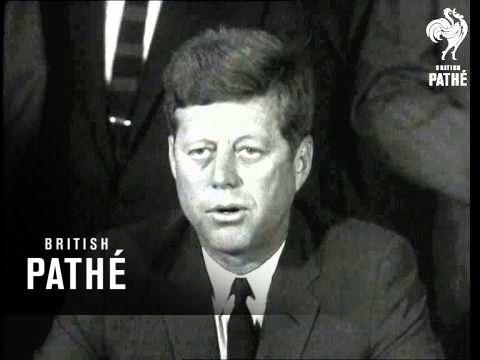 President Kennedy Signs Test Ban Treaty  (1963)