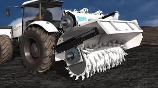 Stehr Bodenstabilisierungsfräse SBF 24-2 | Fendt 1050
