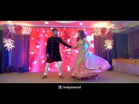 Best Couples Dance - Mere Rang Mein Rangne Wali (Maine Pyar Kiya) | Natya Social