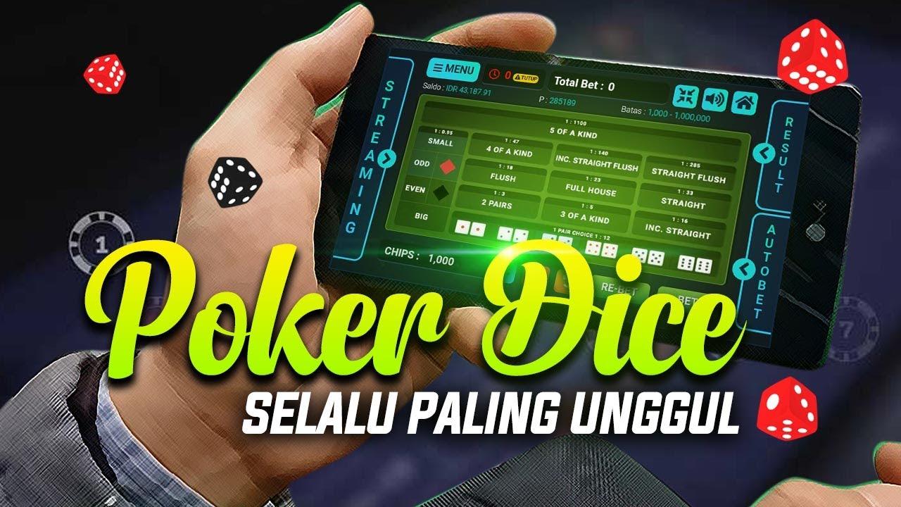 Permainan Dingdong Poker Dice Totojitu Paling Unggul - YouTube