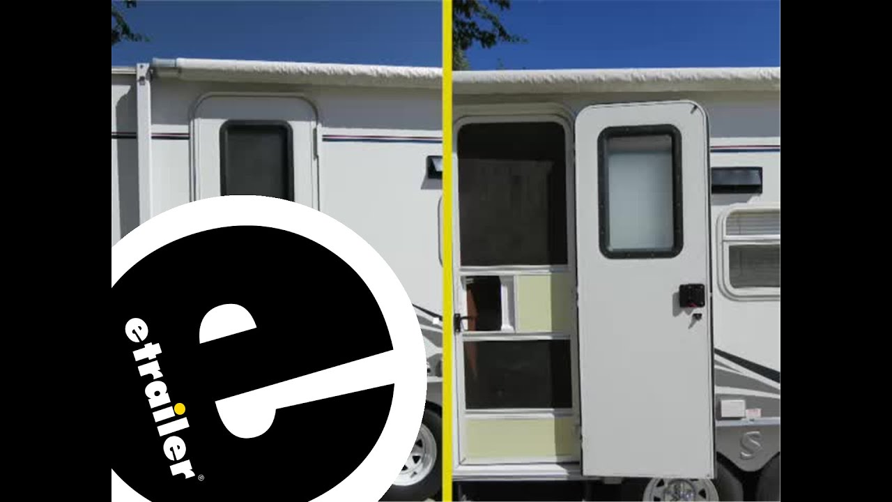 Etrailer Lippert Components Rv Entry Door Window Frame