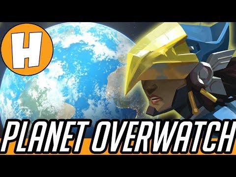 Planet Overwatch - The Wild PharMercy! (Pharah Mercy Funny Mockumentary!)