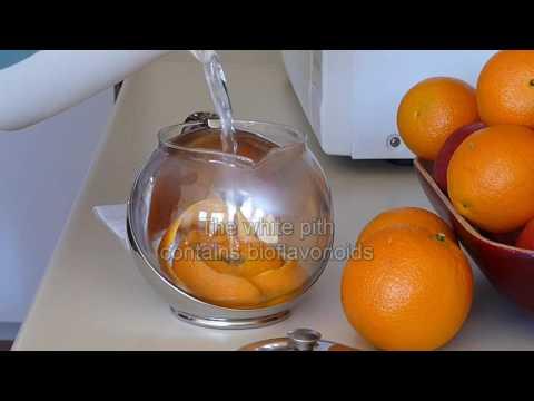 How to use the orange peel