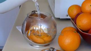 How to use the orange peel