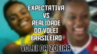 Expectativa x Realidade do vôlei brasileiro (PART 1) | Vôlei da Zoeira #2 by Danilo Rosa