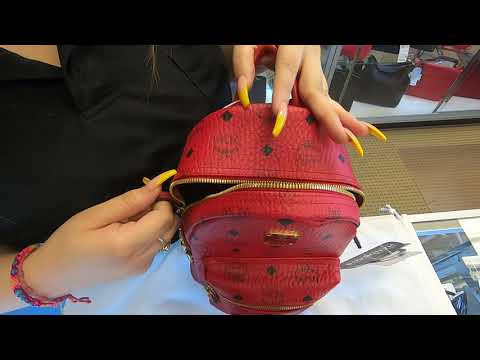 mcm-mini-stark-side-stud-backpack-bag-red-dd5594