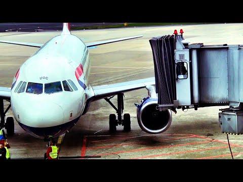 British Airways Euro Traveller: Dusseldorf - London Heathrow, Airbus A319