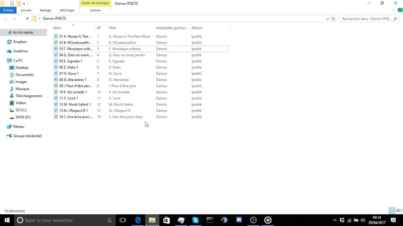 Extrem ALBUM DAMSO IPSEITE | GRATUIT ! - YouTube XF55