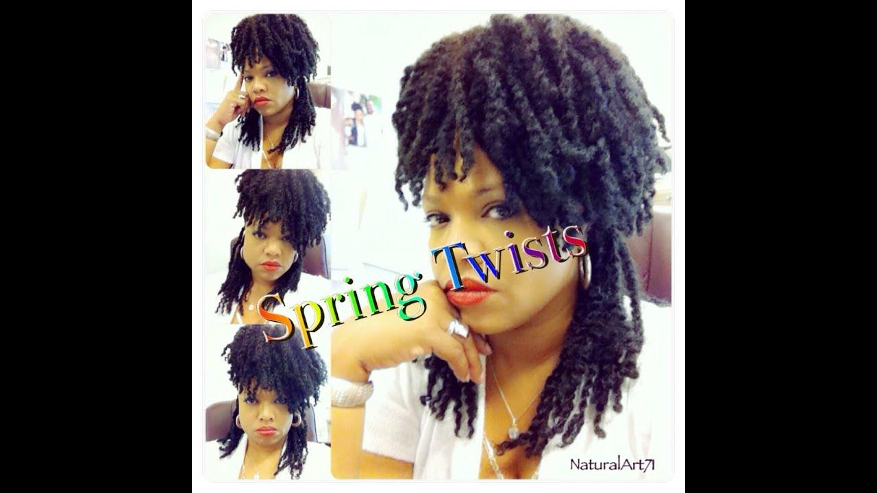 Spring Twist Tutorial 2013 E On Hair Youtube