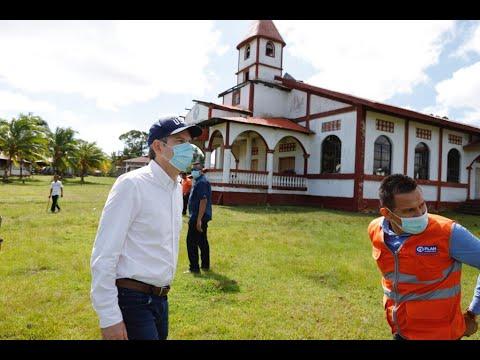 Embajador Kevin Sullivan presenta informe de ayuda humanitaria destinada para el caribe