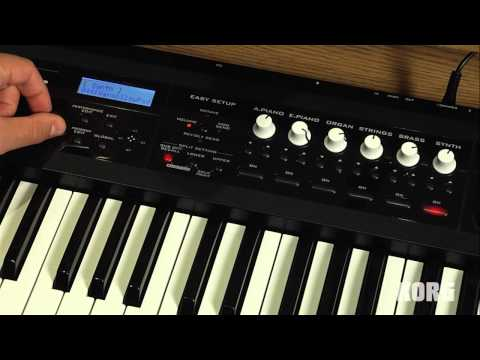 Korg PS60 Performance Synthesizer - Part I: Splits & Layers - In The Studio With Korg