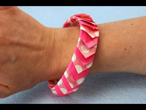 How To Make A Duct Tape Spike Bangle Bracelet Sophie S World