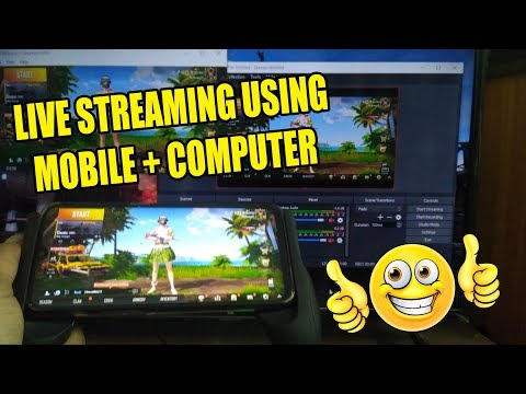 How To Do Live Streaming Using Mobile + Computer 100% Working