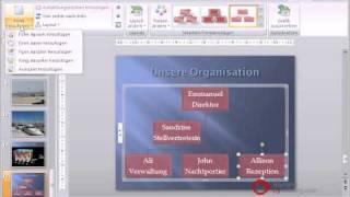 Powerpoint Präsentation Tutorial Deutsch Organigramme
