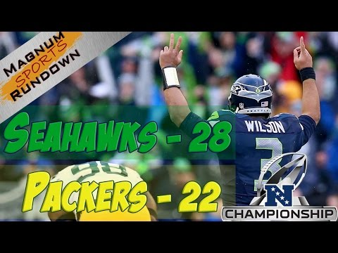 Seahawks Rally, Beat Packers 28-22 NFC Championship || MSR
