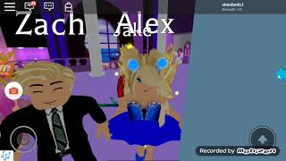 Two guys says they love alex and Dove is angry roblox, royal high school