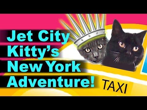 Jet City Kitty's New York Adventure!