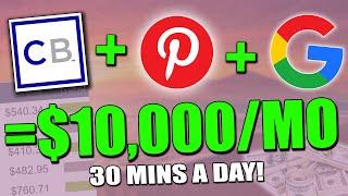 La forma MÁS FÁCIL de ganar dinero en Pinterest con CLICKBANK & GOOGLE = $ 500 / día (Tutorial ...