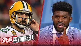 Emmanuel Acho disagrees with Aaron Rodgers being left of Top 10 QB list   NFL   SPEAK FOR YOURSELF