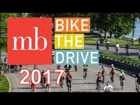 GoPro Cycling: Bike the Drive Chicago 2017 - Northbound - Museum of Science & Industry to Grant Park