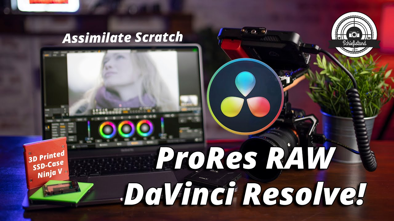 ProRes RAW (über Umwege) in DaVinci Resolve & DIY SSD-Case für den Ninja V!