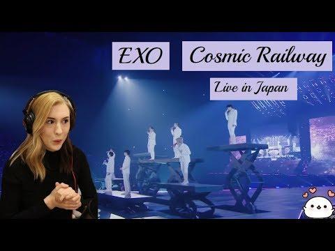 EXO - COSMIC RAILWAY LIVE IN JAPAN - Reaction