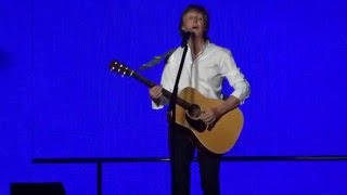 Paul McCartney - Blackbird - Little Rock, AR 4/30/16