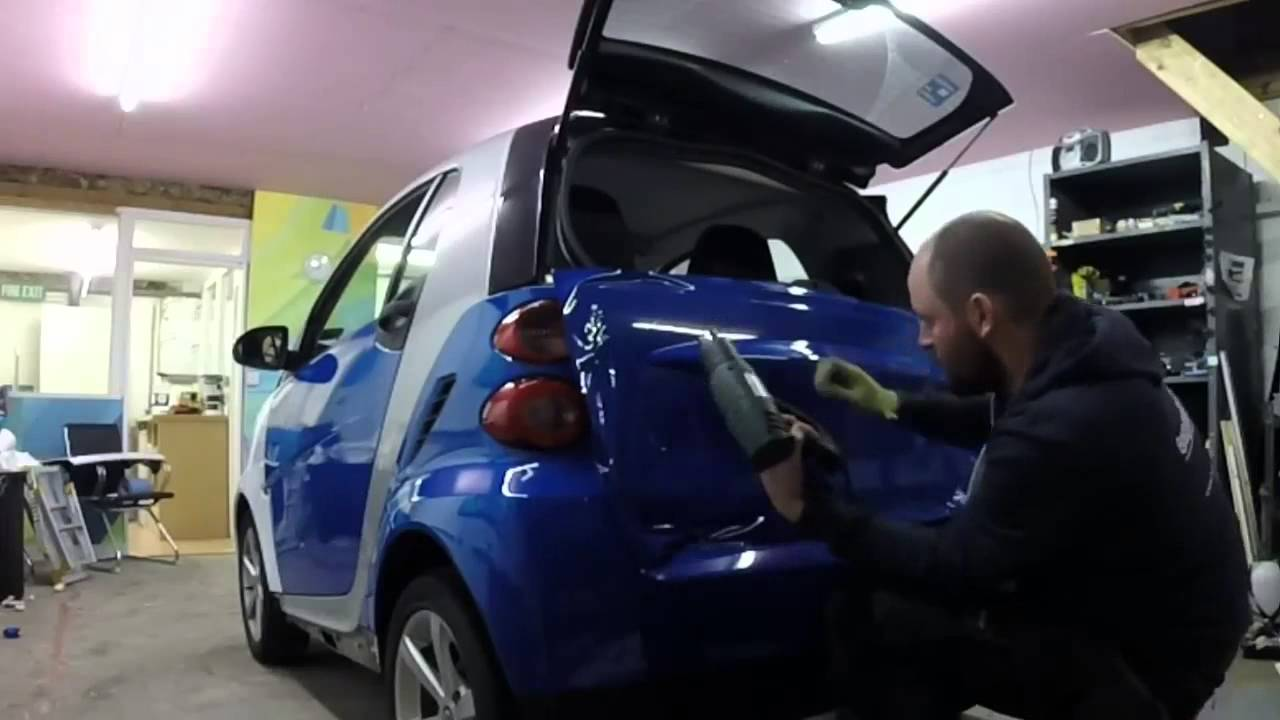 Smart Car Wrap Youtube