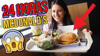 24 horas COMIENDO solo en MCDONALD'S - I Only Ate MCDONALDS FOOD for 24 hours Challenge
