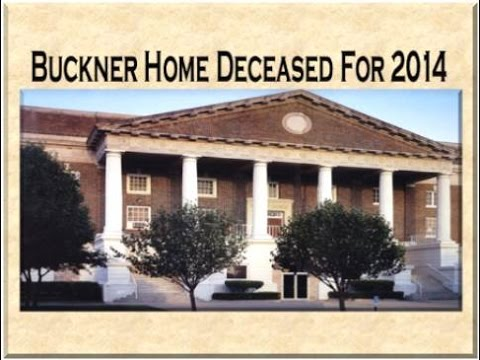 Buckner orphans home deceased for 2014 youtube for Buckner home