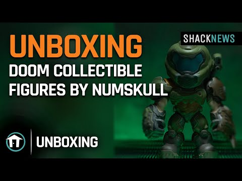 Unboxing: Doom Collectible Figures by Numskull