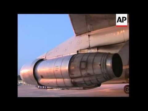NATO plane from Slovenia arrives with aid