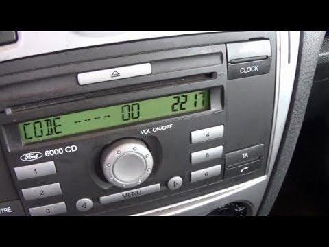Ford Radio Keycode Tutorial Youtube