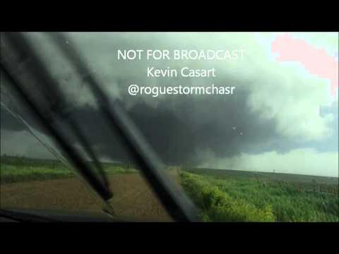 Coleridge, Nebraska EF3 Tornado 6/17/14 Full Norma