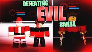 Defeating Evil Santa Claus! | Nextus Boku No Roblox Gameplay | Roblox