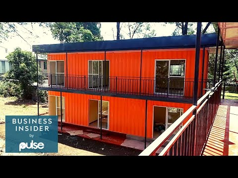 How CONTAINER HOMES Are Solving Modern HOUSING CRISIS In Kenya