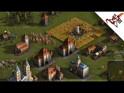 Cossacks 3 - 2v2v2 CONCENTRATED ATTACK | Multiplayer Gameplay